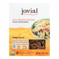 Jovial - Pasta - Organic - Whole Grain Einkorn - Penne Rigate - 12 oz - case of 12