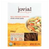 Jovial - Pasta - Organic - Whole Grain Einkorn - Fusilli - 12 oz - case of 12