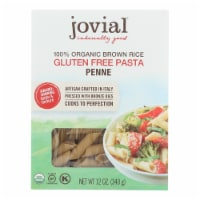 Jovial - Pasta - Organic - Brown Rice - Penne Rigate - 12 oz - case of 12 - Case of 12 - 12 OZ each