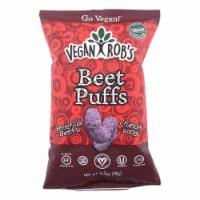 Vegan Rob's Beet Puffs  - Case of 12 - 3.5 OZ - Case of 12 - 3.5 OZ each