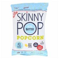 Skinnypop Popcorn Popcorn - Real Butter - Case of 12 - 4.4 oz - Case of 12 - 4.4 OZ each