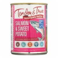 Tender & True - Dog Food Salmon&swt Pot - Case of 12 - 13.2 OZ