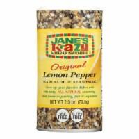 Jane's Marnde - Lemon Pepper - Case of 12 - 2.5 oz - Case of 12 - 2.5 OZ each
