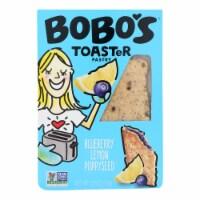 Bobo's Oat Bars - Toaster Pastry - Blueberry Lemon Poppy - Case of 12 - 2.5 oz.