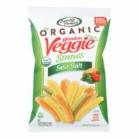 Sensible Portions - Veggie Straws Sea Salt - Case of 12 - 5 OZ - Case of 12 - 5 OZ each