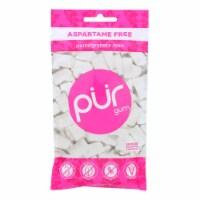Pur Pomegranate Mint Gum  - Case of 12 - 2.72 OZ