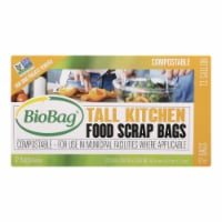 BioBag - 13 Gallon Tall Food Waste Bags - Case of 12 - 12 Count - Case of 12 - 12 CT each