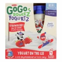 Gogo Squeez Low Fat Yogurt - Case of 12 - 4/3 OZ - Case of 12 - 4/3 OZ each