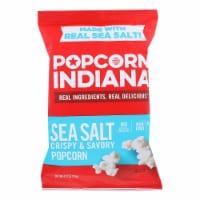 Popcorn Indiana Popcorn - Sea Salt - Case of 12 - 4.75 oz. - Case of 12 - 4.75 OZ each
