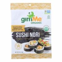 Gimme Seaweed Snacks 100% Organic Roasted Seaweed Sushi Nori - Wrap N' Roll- 12Case- .81 oz - Case of 12 - .81 OZ each
