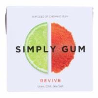 Simply Gum - Gum Revive - Case of 12 - 15 CT