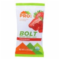 Probar Bolt Energy Chews - Organic Strawberry - 2.1 oz - Case of 12 - Case of 12 - 2.1 OZ each