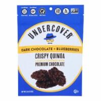 Undercover Quinoa - Crispy Quinoa Dk Ch Blbry - Case of 12 - 2 OZ - Case of 12 - 2 OZ each