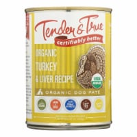 Tender & True Cat Food, Turkey And Liver - Case of 12 - 12.5 OZ - Case of 12 - 12.5 OZ each