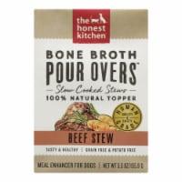 The Honest Kitchen - Dog Fd Por Ovr Bf Stew - Case of 12 - 5.5 OZ - Case of 12 - 5.5 OZ each