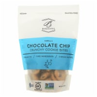 Bakeology Cookie Bites - Chocolate Chip - Case of 12 - 6 oz.