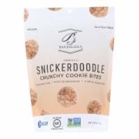 Bakeology Cookie Bites - Snickerdoodle - Case of 12 - 6 oz. - Case of 12 - 6 OZ each
