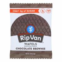 Rip Van Wafels - Wafel Chocolate Brownie - CS of 12-1.16 OZ - Case of 12 - 1.16 OZ each