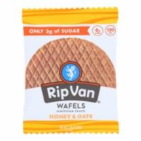 Rip Van Wafels - Wafel Honey Oats - CS of 12-1.16 OZ - Case of 12 - 1.16 OZ each