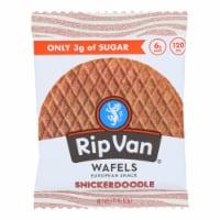 Rip Vanilla Wafels - Wafel Snickerdoodle Singl - Case of 12 - 1.16 OZ - Case of 12 - 1.16 OZ each