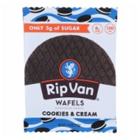 Rip Vanilla Wafels - Wafel Cookies & Cream Sgl - Case of 12 - 1.16 OZ - Case of 12 - 1.16 OZ each