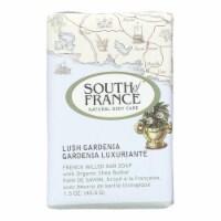 South of France Bar Soap - Lush Gardenia - Travel - 1.5 oz - Case of 12 - Case of 12 - 1.5 OZ each