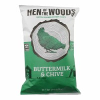 Hen Of The Woods - Chips Ketl Btrmlk Chive - Case of 12-6 OZ - Case of 12 - 6 OZ each