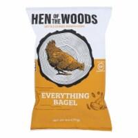 Hen Of The Woods - Chips Ketl Evthing Bagel - Case of 12-6 OZ - Case of 12 - 6 OZ each