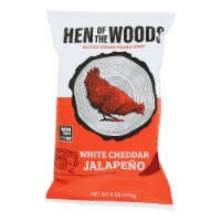 Hen Of The Woods - Chips Ketl Chile Cn/queso - Case of 12-6 OZ - Case of 12 - 6 OZ each