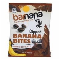 Barnana Organic Chewy Banana Bites - Chocolate - Case of 12 - 1.4 oz - Case of 12 - 1.4 OZ each