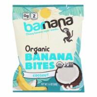 Barnana Organic Chewy Banana Bites - Coconut - Case of 12 - 1.4 oz - Case of 12 - 1.4 OZ each