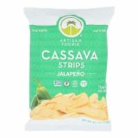 Artisan Tropic - Cassava Strips Jalapeno - Case of 12 - 4.5 OZ