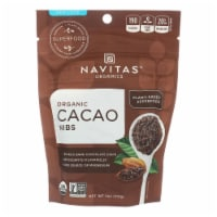 Navitas Naturals Cacao Nibs - Organic - Raw - 4 oz - case of 12