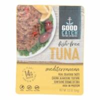 Good Catch - Fish Free Tuna Mediterran - Case of 12 - 3.3 OZ - Case of 12 - 3.3 OZ each