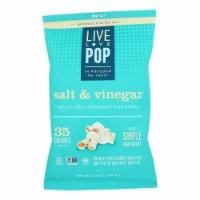Live Love Pop - Popcorn Salt & Vinegar - Case of 12 - 4.4 OZ - Case of 12 - 4.4 OZ each