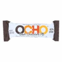 Ocho Candy - Candy Bar Dark Chocolate Peanut Butter - Case of 12-1.5 OZ - Case of 12 - 1.5 OZ each