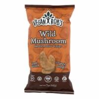 Vegan Rob's - Chips Kttl Wild Mushroom - Case of 12 - 5 OZ - Case of 12 - 5 OZ each