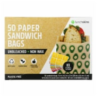 Lunchskins - Sandwich Bag Paper Avo - Case of 12 - 50 CT - Case of 12 - 50 CT each