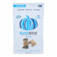 Superseedz Gourmet Pumpkin Seeds - Sea Salt - Case of 6 - 5 oz.
