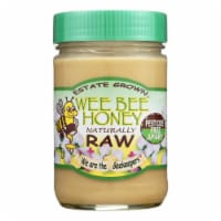 Wee Bee Honey Naturally Raw - Honey - Case of 12 - 16 oz. - Case of 12 - 16 OZ each