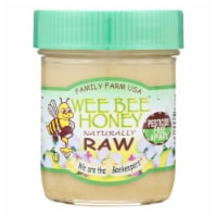 Wee Bee Honey - Naturally Raw Honey - Case of 12 - 9 OZ - Case of 12 - 9 OZ each