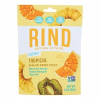 Rind Snacks - Dried Fruit Blend Tropical - Case of 12 - 3 OZ - Case of 12 - 3 OZ each
