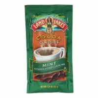 Land O Lakes Cocoa Classic Mix - Mint and Chocolate - 1.25 oz - Case of 12 - Case of 12 - 1.25 OZ each