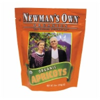 Newman's Own Organics Dried Apricots - Organic - Case of 12 - 6 oz. - Case of 12 - 6 OZ each