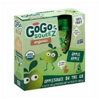 GoGo Squeeze Sauce - Apple - Case of 12 - 3.2 oz. - Case of 12 -4/3.2 OZ each