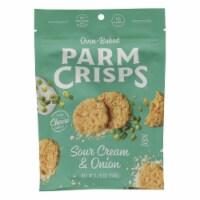 Parm Crisps - Parm Crisp Sr Cream & Onion - Case of 12 - 1.75 OZ - Case of 12 - 1.75 OZ each