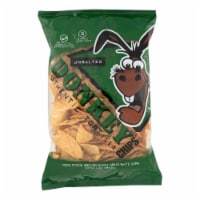 Donkey Chips Tortilla Chips - Unsalted - Case of 12 - 14 oz. - Case of 12 - 14 OZ each