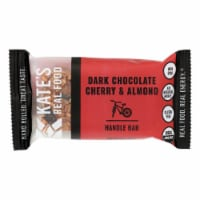 Kate's Real Food - Bar Hndl Dark Chy Almond - Case of 12 - 2.2 OZ - Case of 12 - 2.2 OZ each