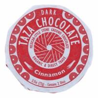 Taza Organic Chocolate Mexicano Discs - 50 Percent Dark - Cinnamon - 2.7 oz - 12Case - Case of 12 - 2.7 OZ each
