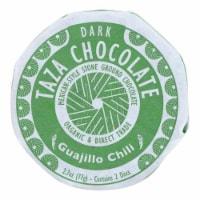 Taza Chocolate Organic Mexicano Discs - 50 Percent Dark - Guajillo Chili - 2.7 oz - 12Case - Case of 12 - 2.7 OZ each